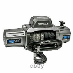 Superwinch SX10000SR 12VDC Winch 10000lbs Single Line Pull 80' Synthetic Rope