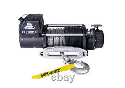 Superwinch Tiger Shark 11500 Sr (12v) Electric Winch Synthetic Rope
