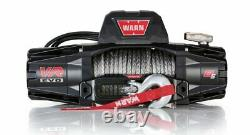 Synthetic Rope Warn VR EVO 8-S 8,000 lb Winch for Truck, Jeep, SUV