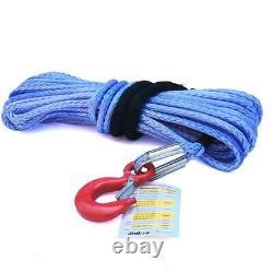 T-Max Dyneema Synthetic Winch Rope & Hook 24m x 10mm 10,000kg Break BA 2670
