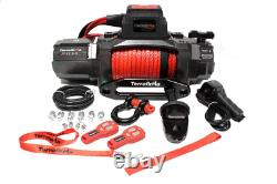 Terrafirma Winch M12.5S 2 Wireless Remotes, Synthetic Rope 12v Offroad TF3320