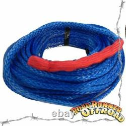 UHMWPE Winch Rope 30x10mm Synthetic Cable fits all low mount winches