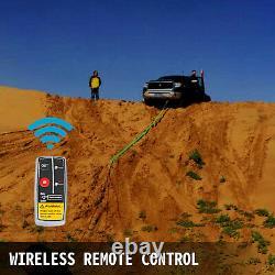 VEVOR 4500lb / 2040kg 12v Truck Electric Winch with Synthetic Rope Motor for UTV