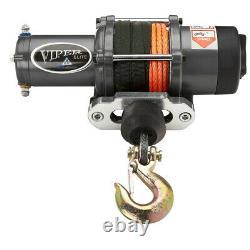 Viper ATV/UTV Winch Elite 5000 lb with 40 feet of Synthetic Rope