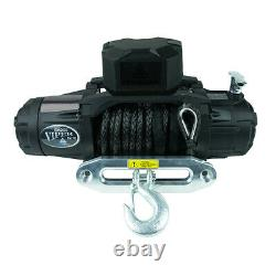 Viper Elite 12,000lb Recovery Truck Winch with Black Synthetic Rope