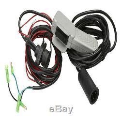 Viper Max 2500 lb ATV UTV Winch Kit with 50 feet Synthetic Rope Cable SxS 4x4