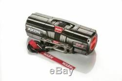 WARN 101150 AXON 55-S Synthetic Rope UTV Winch Rockerbar Digital Control Switch