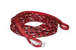 WARN 102557 3M Glow Spydura Nightline Synthetic Winch Rope Extension, 3/8x50