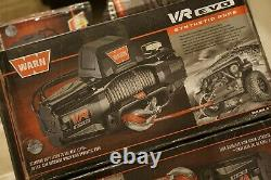 WARN 103253 VR EVO 10-S Electric 12V DC Winch with Synthetic Rope 3/8 NEW