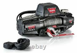 WARN 103253 VR EVO 10-S Truck, Jeep, SUV Winch, 10,000 lb, Synthetic Rope
