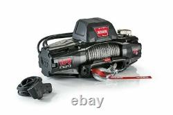 WARN 103255 VR EVO Series Winch 12,000lb with Synthetic Rope Jeep 4x4 Off-Road