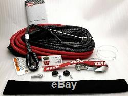 WARN 87915 Spydura Synthetic Rope 3/8x100', for winches up to 12,000 lbs