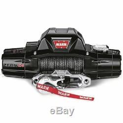 WARN 89611 Zeon 10-S Truck Synthetic Winch, Spydura Rope, Lifetime Warranty