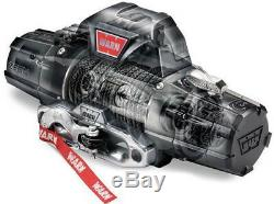WARN 95960 ZEON 12S 12000 lb Ultimate Platinum Series Winch 80' Synthetic Rope