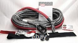 WARN 96040 Spydura Pro Synthetic Rope 100' x 3/8 for Winches up to 16,500 lbs