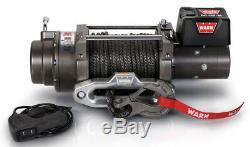 WARN 97720 M12-S 12000 lb Winch 100' 3/8 Spydra Synthetic Rope Heavy Series