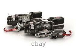 WARN 97740 16.5ti-S 16500 lb Series Winch 80' 3/8 Spydra Synthetic Heavy Rope