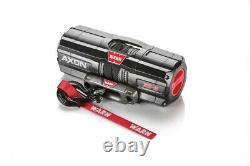 WARN AXON 35-S ATV/UTV Winch with 50 x 3/16 Spydura Synthetic Rope
