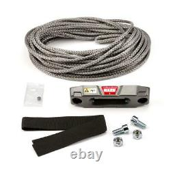 WARN Accessory Kit Epic Synthetic Rope for ATV and UTV Winch 3/16 x 50
