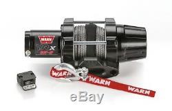 WARN VRX 45-S WINCH 4500 Lb 50' OF 1/4 SYNTHETIC ROPE ATV UTV VRX45-S 101040