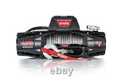 WARN VR EVO 10-S Winch 10000# Synthetic Rope 103253