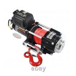 WARRIOR C2500 12v Winch & Synthetic Rope IDEAL FOR ATV / UTV 25SPA12