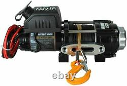 WARRIOR NINJA C3500 12v ELECTRIC WINCH WITH SYNTHETIC ROPE 35SPA12