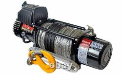 WARRIOR SPARTAN 12000LB WITH Synthetic Rope 12V WINCH-12SPA12