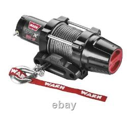 Warn 101020 VRX 2500-S Winch 50' 3/16 Synthetic Rope 2500 lbs ATV UTV Offroad