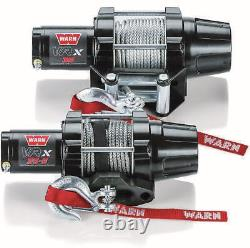 Warn 101030 VRX 35-S 3500 Synthetic Rope Winch