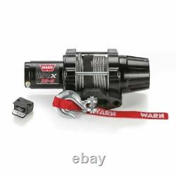 Warn 101030 VRX 35-S Powersport Winch 50 x 3/16 Synthetic Rope NEW