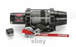 Warn 101040 VRX 45-S Powersport Winch with Synthetic Rope & 4500 lb. Rating
