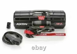 Warn 101140 AXON 45-S Powersport Winch with 50' x 1/4 Spydura Synthetic Rope