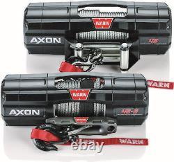Warn 101140 Axon 45-S 4500 Spydura Synthetic Rope Winch