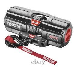 Warn 101240 AXON 4500-RC Winch 27' 1/4 Synthetic Rope 4500 lbs ATV UTV Offroad