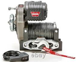 Warn 10,000lb Jeep Truck & SUV Premium Series M8274-S Winch with Synthetic Rope