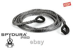Warn 3/8 x 50' Spydura Pro Synthetic Extension Rope 12000 lb Capacity Winch