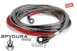 Warn 3/8 x 80' Spydura Pro Synthetic Rope 12000 lb Capacity Jeep Truck Winch