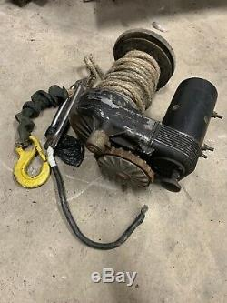 Warn 8274 Winch, Bow Motor 2, Synthetic Rope