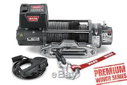 Warn 8,000 lb Jeep Truck & SUV Premium Series M8000-S Winch 12V Synthetic Rope