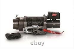 Warn M15-S 15000 lb Winch 80' 3/8 Spydra Synthetic Rope Heavy Series #97730