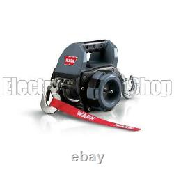 Warn Portable 750lb Electric Drill Powered Winch with Synthetic Rope