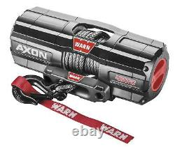 Warn Synthetic Rope Winch Axon 4500rc 101240