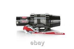 Warn VRX 35-S 3500 12V Winch Synthetic Wire Rope Offroad ATV UTV SXS 4 Wheeler