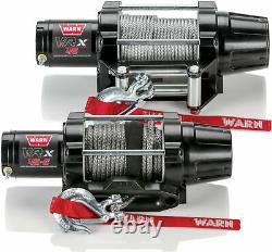 Warn VRX 4500 ATV UTV Synthetic Rope Winch 101040