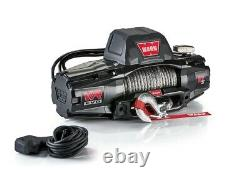 Warn VR EVO 10-S Jeep Truck & SUV WaterProof 10,000 lb Winch with Synthetic Rope