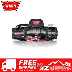 Warn VR EVO 12-S Jeep Truck & SUV WaterProof 12,000 lb Winch with Synthetic Rope