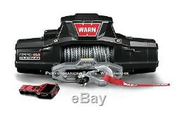 Warn Zeon 12-s Platinum Winch Ultimate Performance Synthetic Rope, 12000 Lb 12k