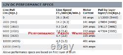 Warn Zeon 12-s Premium Winch Synthetic Rope, Hawse Aluminum Fairlead 12000 Lb