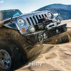 Warn Zeon Platinum 10-s 12v Electric Winch with Synthetic Rope